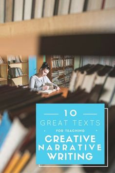 Mentor text for teaching creative narrative writing. Check out these books for teaching creative narrative elements like plot, characters, and dialogue!