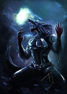 werewolf by ~Betacarrier on deviantART