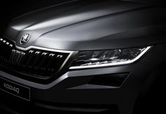 #Skoda reveals first images of its new #Kodiaq
