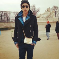 Chinese Men style from Paris Fashion week :X