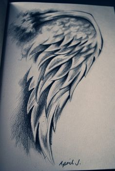 quick small sketch of angels' wings Amazing Drawings, Beautiful Drawings, Cool Drawings, Drawing Sketches, Pencil Drawings, Amazing Art, Sketching, Charcoal Drawings, Small Drawings