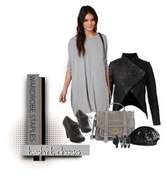 """""""Suave Suede Grey Happy"""" by michelletheaflack ❤ liked on Polyvore"""
