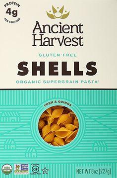 Ancient Harvest Wheat Free Pasta Shells, 8 oz  Price: 6,59$  https://www.amazon.com/gp/product/B000VK851U/ref=as_li_qf_sp_asin_il_tl?ie=UTF8&tag=bestselle0b0f-20&camp=1789&creative=9325&linkCode=as2&creativeASIN=B000VK851U&linkId=96e45535ec2f6502021bd12570221e5e