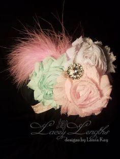 Baby headband / Girls headband / Girls hair band / by LaceyLengths