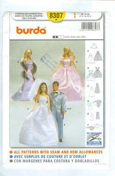 Image result for burda barbie patterns