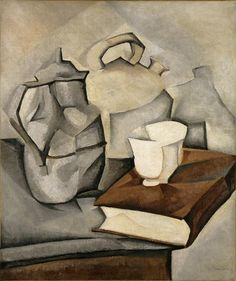 Learn more about Still Life with Book 1913 Juan Gris - oil artwork, painted by one of the most celebrated masters in the history of art. Georges Braque, Spanish Painters, Spanish Artists, Art Espagnole, Synthetic Cubism, Arte Elemental, Still Life Artists, Cubism Art, Art Moderne