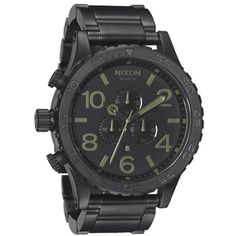 Nixon 51-30 tide matte black surplus dress