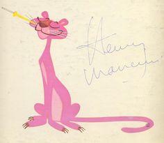 Pantera Rosa creada por el animador Friz Freleng