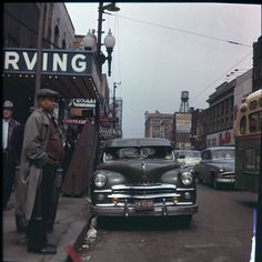 50 Color Vintage Snapshots Documented Everyday Life of Chicago in the 1950s