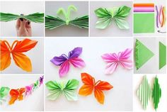 Make Butterfly design by Using Paper, its very easy and simple method to make at home, check out more designat This site so try it now and make easy desig