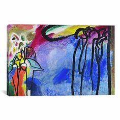 Wassily Kandinsky 'Improvisation 19' Print Wall Art