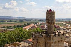 La torre de la atalaya del palacio real de Olite
