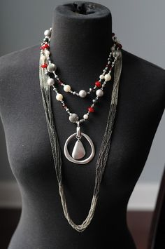 Hot Hot Hot with Easy Living Pendant and Manhattan by TheBlingTeam, via Flickr. Premier Designs Jewelry Carolyn Popp