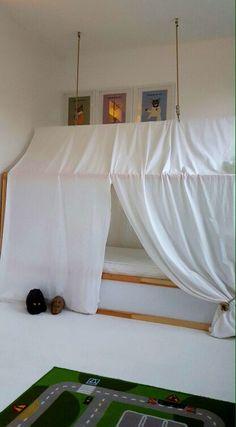 One of my boys Ikea KURA Hack beds