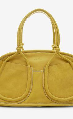 Hogan Yellow Shoulder Bag | VAUNTE