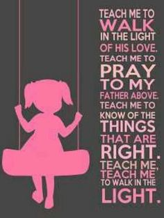 I loved this song in Primary.....Cutest picture. LDS, Know it, Love it, Live it.