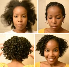 Flat Twist Out On Natural Hair Tutorial - MUST TRY!!!!!!!!
