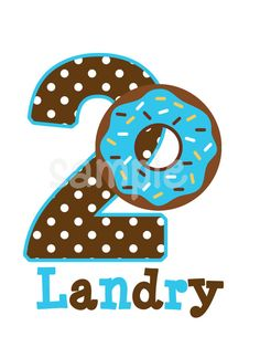 Donut Birthday Shirt Personalized by http://www.cutiepatootiecreations.com