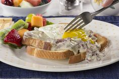 It's creamy, it's beefy, and it's downright delicious. Creamy Chipped Beef is a diner favorite, and one that you can easily make at home!