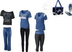 """detroit lions"" by cesmellie on Polyvore"