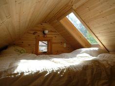 cozy sleeping loft
