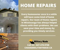 We provide one call services to our residential clients. This is one of the most common issues most of the homeowners face. Every now and then, you may need a little help with maintenance issues. Call at now.