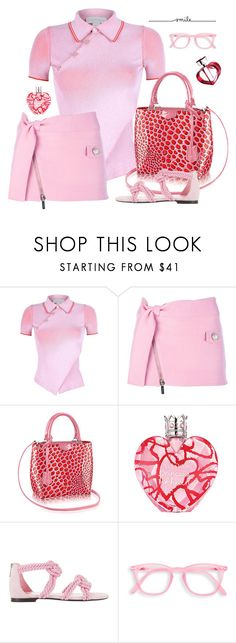 Head-to-Toe Pink by ysmn-pan on Polyvore featuring STELLA McCARTNEY, Dsquared2, Maison Ernest, Chopard, contest and monochromepink