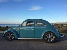 Cal Look, VW Deluxe with Porche alloys.