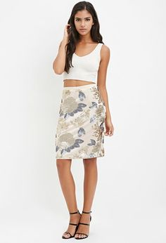 Quickview: Sequined Pencil Skirt | f21 - 2000161639