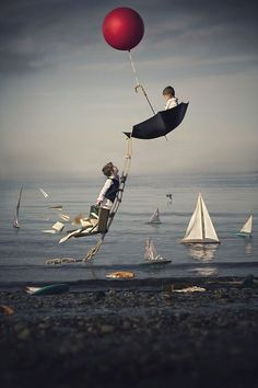 Interview: Photographer's Surreal Portraits of His Sons Capture the Innocence…