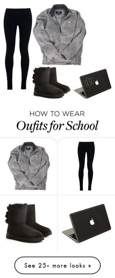 """Ugh school in two days"" by southernstruttin on Polyvore featuring moda, NIKE, UGG Australia e Jamie Clawson"