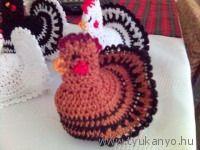 Horgolt tojásmelegítő Easter Crochet, Decor, Amigurumi, Decoration, Decorating, Deco