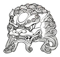 Image detail for -deviantART: More Like Foo Dog Tattoo by ~shadownexu5
