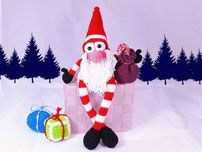 Wartender, Weihnachtswichtel,Häkelanleitung, Weihnachten ,Häkeln , Wichtel, Heilligabend,crochet,