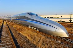 Texas Central Railroad plans to connect Houston and Fort Worth with Bullet trains. This would be awesome! Photo New, High Speed Rail, Bonde, Speed Training, Electric Locomotive, Bahn, Silk Road, Train Tracks, Fort Worth