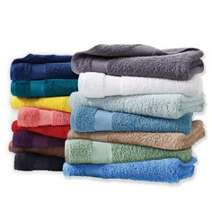 Cannon Ringspun Cotton Bath Towels Hand Towels or Washcloths,