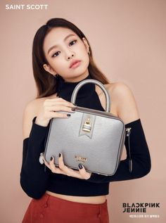 #블랙핑크 #blackpink [] #제니 JENNIE [] #saintscott [] fashion campaign [] [2016] [] [] []