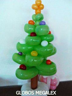 Globos Megalex xmas tree