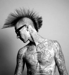 Travis Barker. I mean, who can compete?