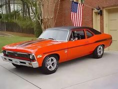 This 1969 Chevy Nova SS is rocking a 427 under the hood.