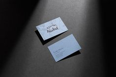Duplex business cards for rellish designed by delivered by post business cards on behance reheart Image collections