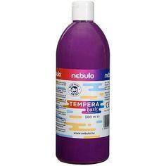 Akciós ! Ft Ár Nebuló tempera nagy kiszerelésben 500 ml - Lila Ft Ár 690 Tempera, Vodka Bottle, Drinks, Drinking, Beverages, Drink, Beverage