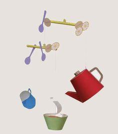 CASITA DE PAPEL: Dollhousepaper: merienda, tea party by Kirin