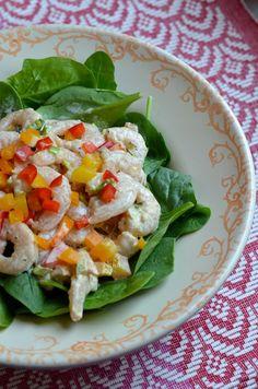 Brazilian Shrimp Salad    Always Order Dessert