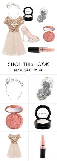 """""""Happy New Year"""" by hazelsophiamoore on Polyvore featuring tarte, MAC Cosmetics, Chi Chi and Lauren Lorraine"""