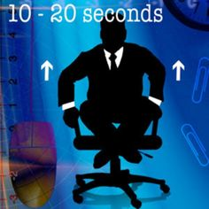 Best exercises to do at your desk.