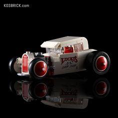 LEGO White Hot Rod Cars (Tutorial) Youtube I, Lego Technic, Custom Decals, Hot Rods, Lego Vehicles, Cars, Lego Ideas, Autos, Car