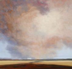 Virga 46X44 oil on canvas, Jamie Kirkland