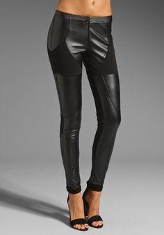 BLESS'ED ARE THE MEEK Girls Best Friend Legging in Black