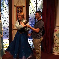 #princessanna #disneyland #60thanniversary #californiaadventure #BestDayEver by twolf2014